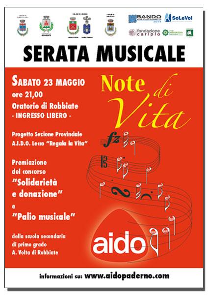 NOTE DI VITA 2015 (1/2)